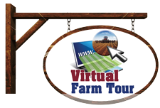 Virtual Farm Tour sign